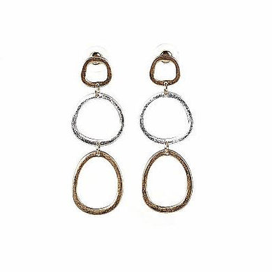 Vern Gold/Silver Earring