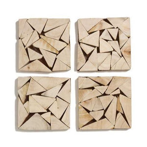 Wedge Coasters, Set of 4