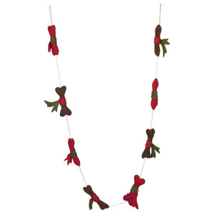 Felt Dog Bone Garland