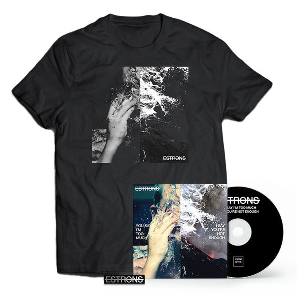 CD + T-SHIRT + ENAMEL PIN BADGE BUNDLE