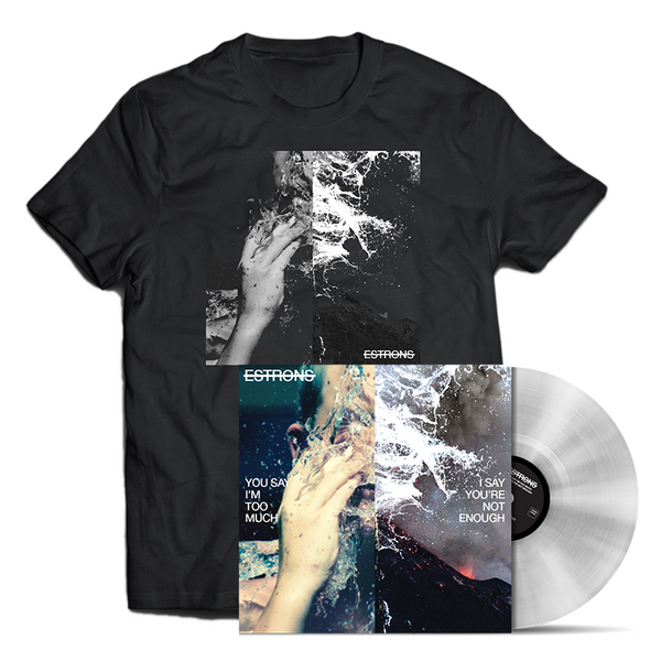 CLEAR LP + T-SHIRT BUNDLE