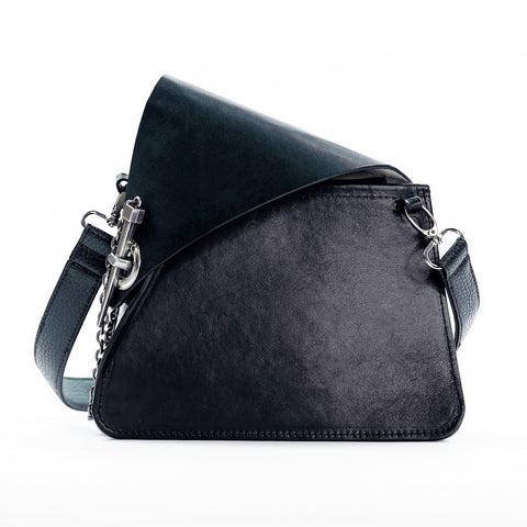 Black leather Okubo crossbody