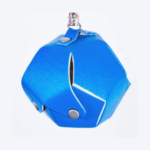 Dodecahedron Bag Charm - Blue