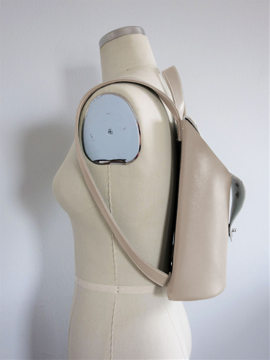 Saito Backpack - Nude - Vegan Leather