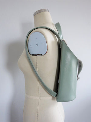 Saito Backpack - Pale Green - Vegan Leather