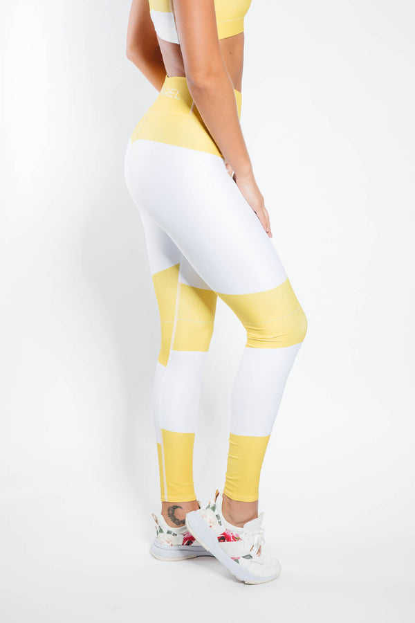 Nova Leggings - Yellow Bee