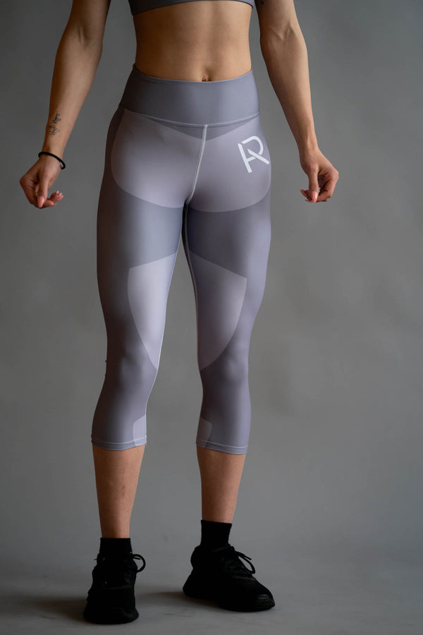 Platinum Capri Leggings