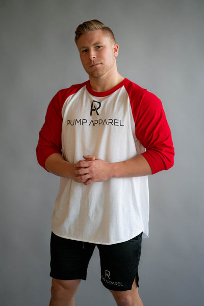 Zane 3/4 sleeve raglan shirt - Pump Apparel