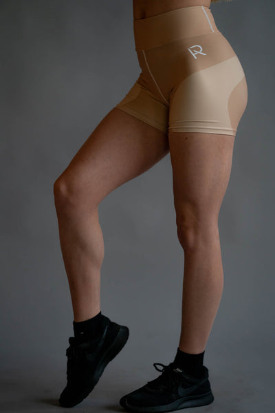 Flora Yoga Shorts - Pump Apparel