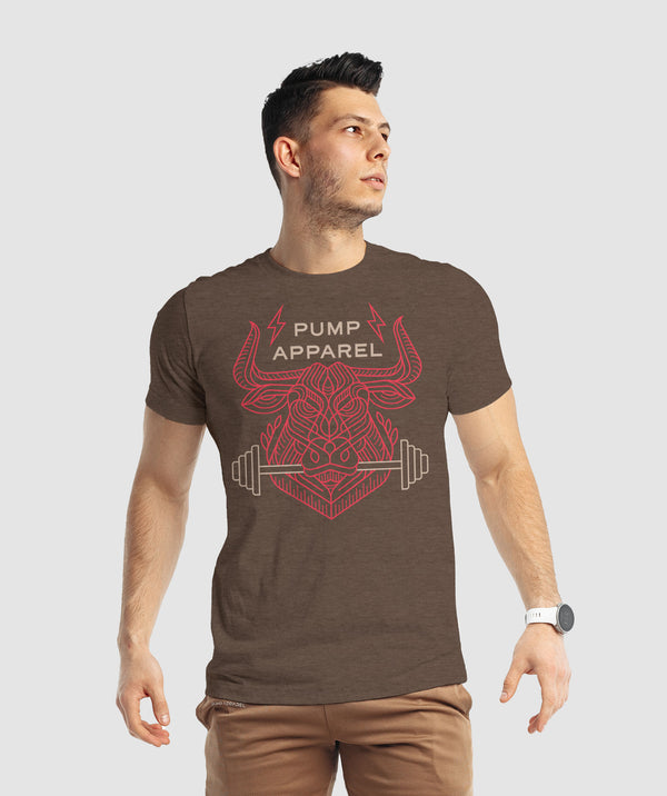 Beast Within T-Shirt - Brown
