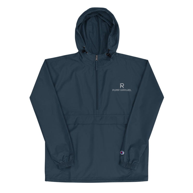 Pump x Champion - Embroidered  Packable Jacket