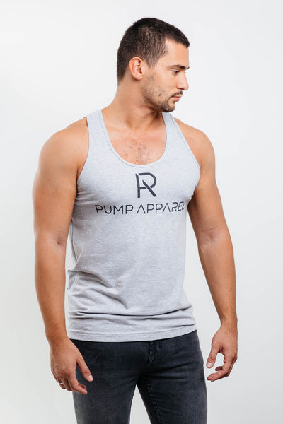 Olympian Tank Top - Heather Gray - Pump Apparel