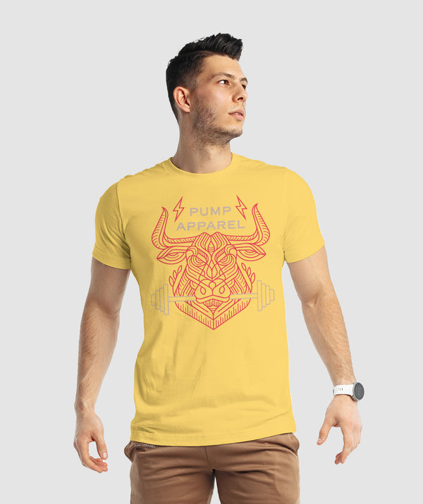 Beast Within T-Shirt - Yellow
