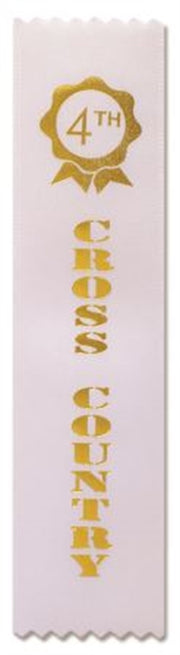 Cross Country Award Ribbons (pkt 50) 4