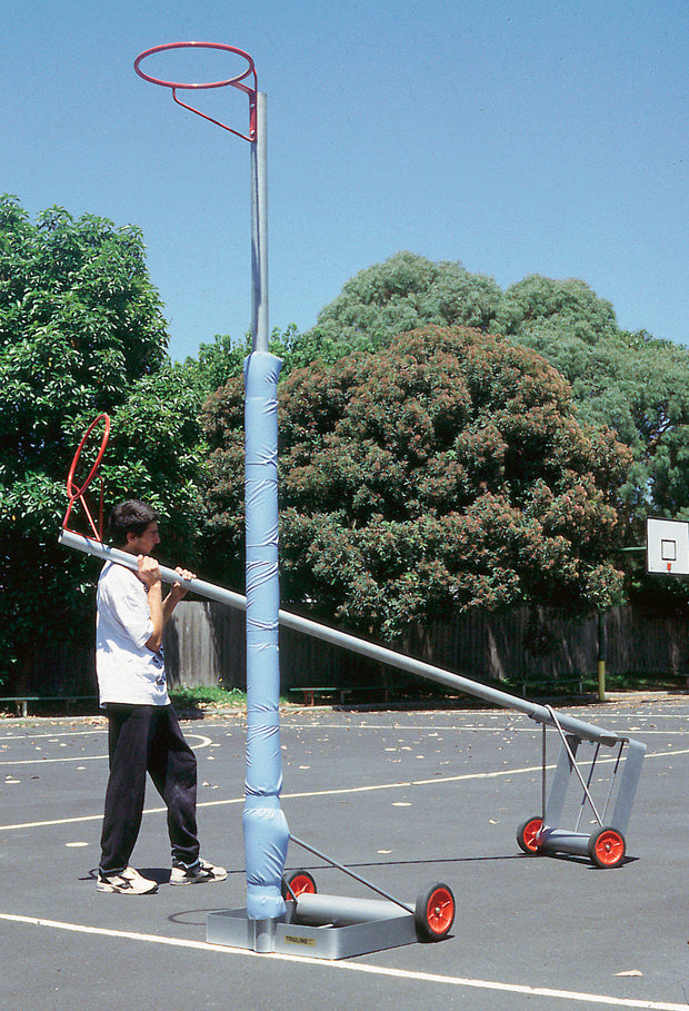 Portable Netball Posts - Adjustable Rings