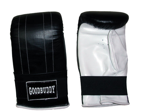 Curved Mitts Leather - Small