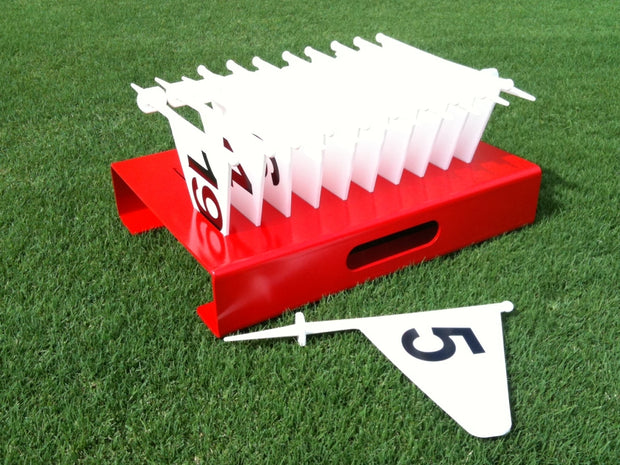 Plastic Marker Flag Set 1-20 With Case