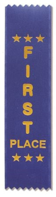 Plain Award Ribbons (pkt 50)