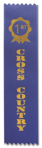 Cross Country Award Ribbons (pkt 50)