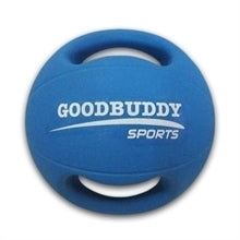 Double Handle - Rubber Medicine Ball 4kg