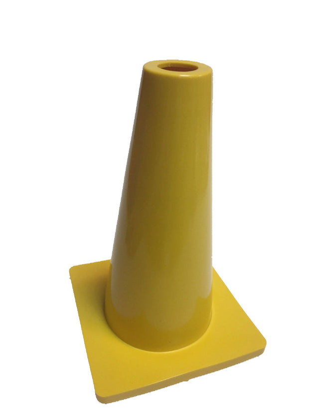 Rubber Marker Cone - Yellow