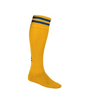 Euro Pro Football Socks - 2 STRIPE TURNOVER