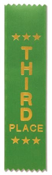 Plain Award Ribbons (pkt 50) 3
