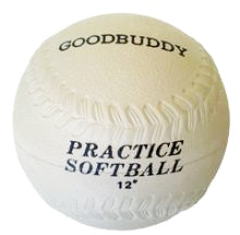 "Softball 12"" - Rubber Moulded"