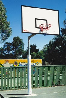 Fixed Basketball towers /Removable basketball rings/ Pair