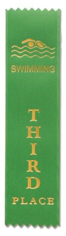 Swimming Award Ribbons (pkt 50) 3