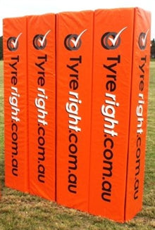 Rugby Goal Post Pads - 4 x Senior Square 2
