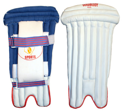 Wicket Keeping Pads  PU Velcro Straps - Mens