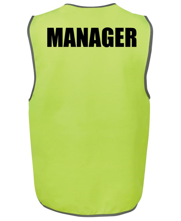 Hi-Vis Vest - with WORDING