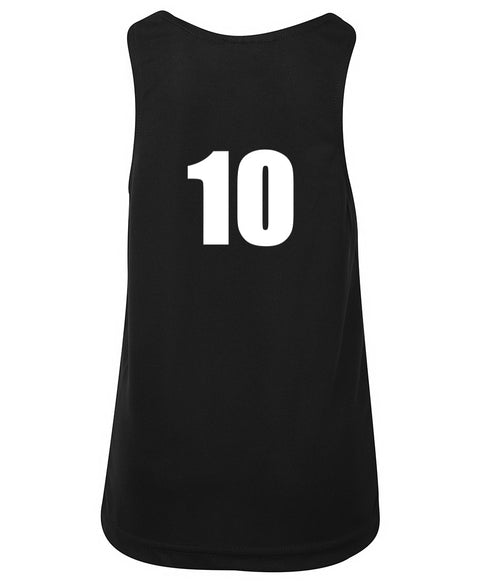 Numbered Team Singlets - Adults