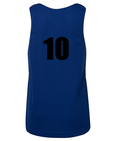 Numbered Team Singlets - Kids