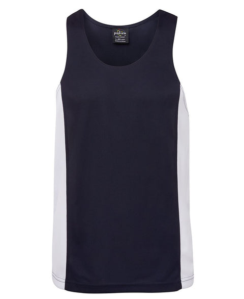 Contrast Side Panel Singlets - Adults