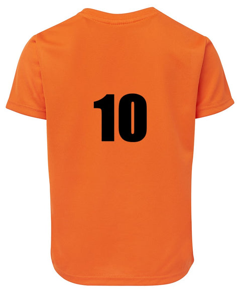 Numbered Team T-Shirt - Adult