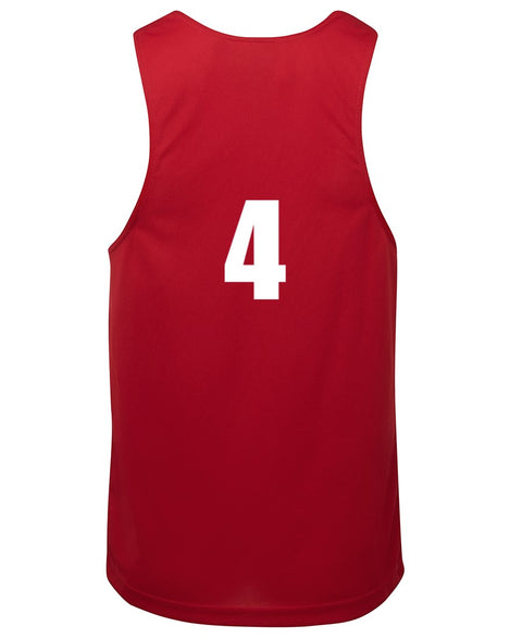 Numbered Basketball Singlets