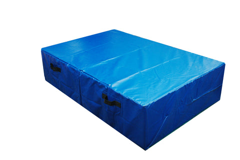 PVC Top High Jump Mat - 360x180x60cm