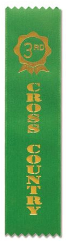 Cross Country Award Ribbons (pkt 50) 3