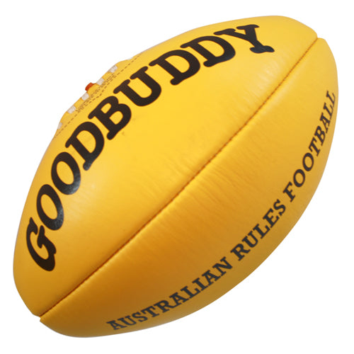 Goodbuddy Australian Rules Leather Ball - Size 3