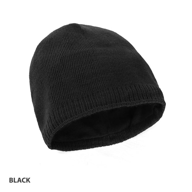 Acrylic/Polar Fleece Beanie
