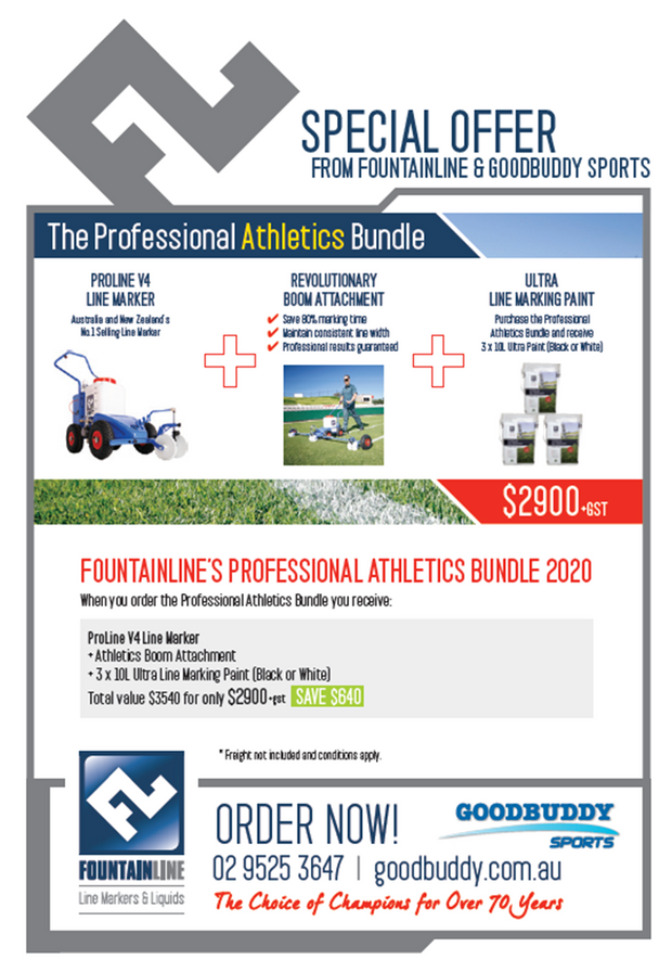 The Professional Athletics Line Marking Bundle