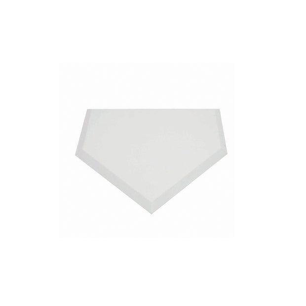 "Rubber Field Base 3/8"" Thick - Home Plate"