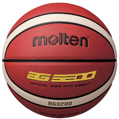 Molten BG3200 12 Panel Synthetic Leather Basketball - Size 6