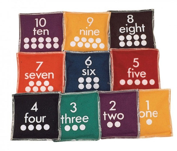Bean Bags Numbered Set 1-10