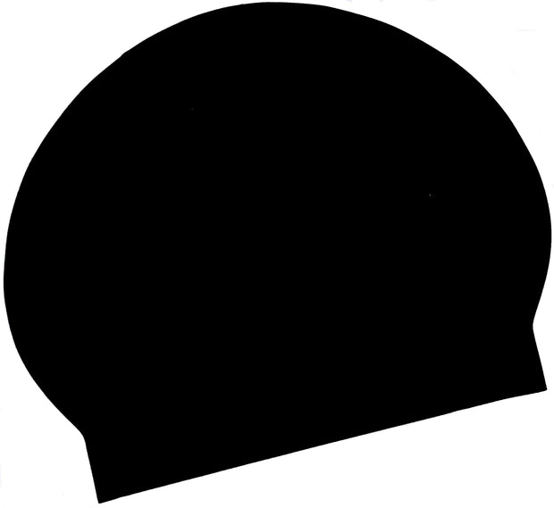 Latex Swim Cap - Black