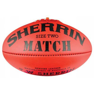 Sherrin Match Size 2 - Leather