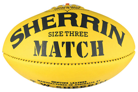 Sherrin Match Size 3 - Leather
