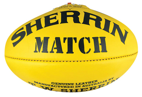 Sherrin Match Size 5  Leather